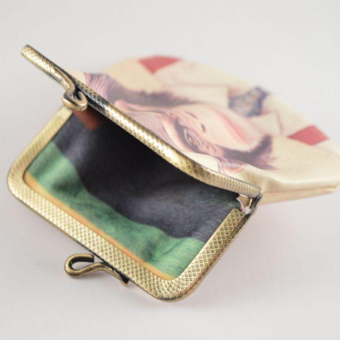 stylischen Retro-Portemonnaie