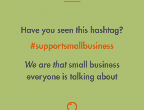 We are that #supportsmallbusiness everyone is talking about