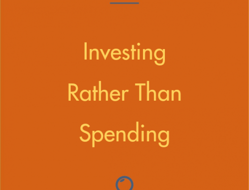 Investing rather than spending